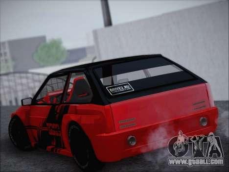 VAZ 21093 Devil for GTA San Andreas left view
