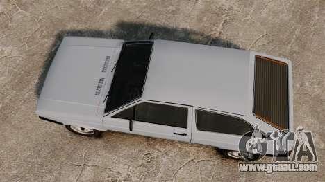 Volkswagen Gol LS 1986 for GTA 4 right view