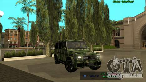 Mercedes-Benz G65 Camo for GTA San Andreas right view