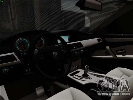 BMW M5 Hamann for GTA San Andreas engine