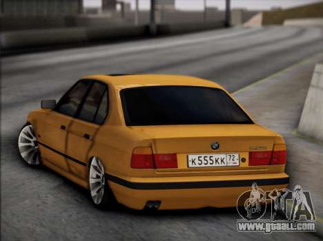 BMW M5 E34 for GTA San Andreas side view