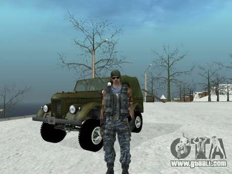 Commando for GTA San Andreas