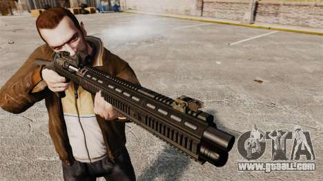 Semi-automatic shotgun XM1014 Full Covered for GTA 4 third screenshot