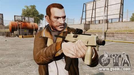 MP9 submachine gun tactical v4 for GTA 4 third screenshot