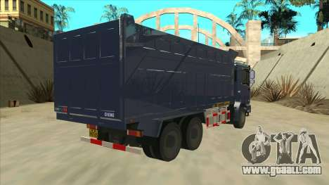 Shacman F2000 for GTA San Andreas right view