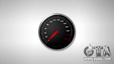Speedometer AdamiX v3 for GTA 4
