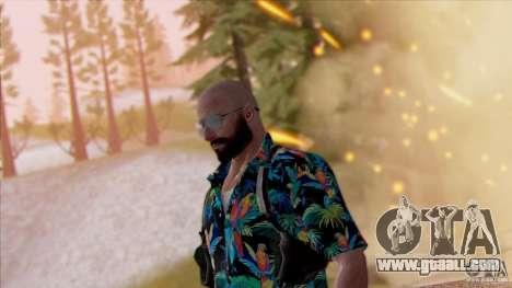 Max Payne 3 for GTA San Andreas third screenshot