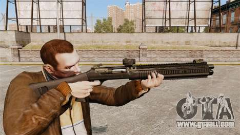Semi-automatic shotgun XM1014 Full Covered for GTA 4