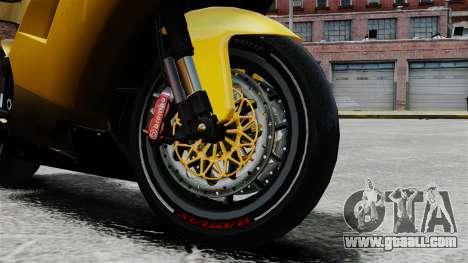 Ducati 848 for GTA 4 right view