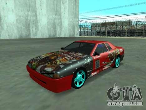 Drift elegy by KaMuKaD3e for GTA San Andreas side view