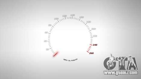 Speedometer AdamiX v4 for GTA 4