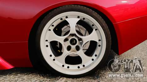 Lamborghini Murcielago 2005 for GTA 4 back view