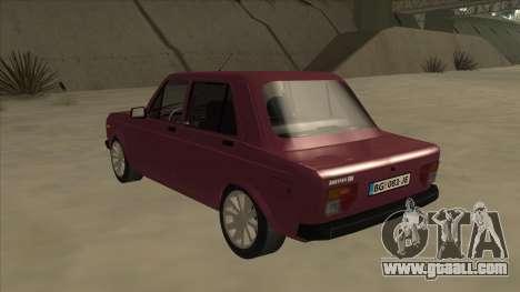 Zastava Yugo 128 for GTA San Andreas back view