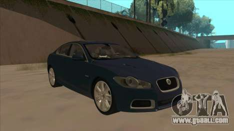 Jaguar XFR 2010 v1.0 for GTA San Andreas left view