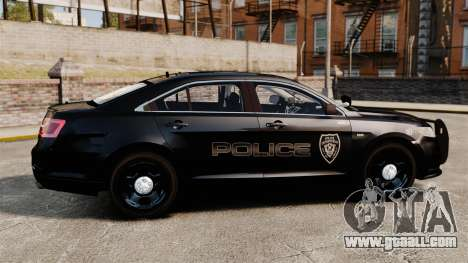 Ford Taurus Police Interceptor 2013 LCPD [ELS] for GTA 4 left view