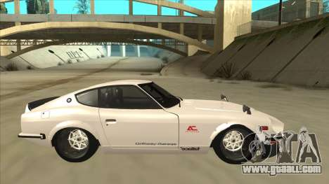 Nissan Fairlady Z - 240z for GTA San Andreas left view