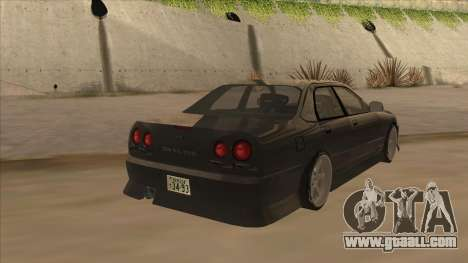Nissan Skyline ER34 Street Style for GTA San Andreas right view