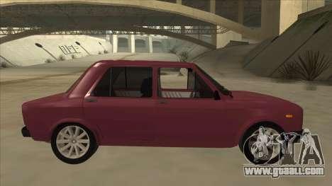 Zastava Yugo 128 for GTA San Andreas back left view