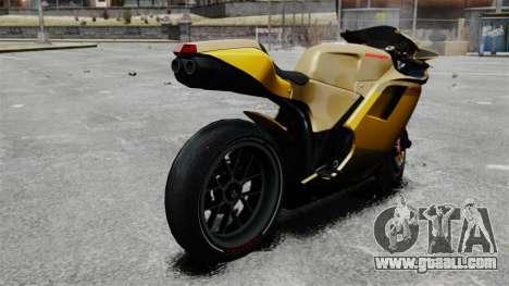 Ducati 848 for GTA 4 left view