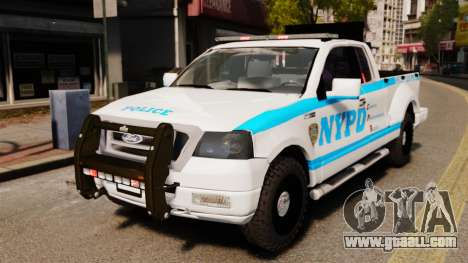 Ford F-150 v3.3 NYPD [ELS & EPM] v3 for GTA 4