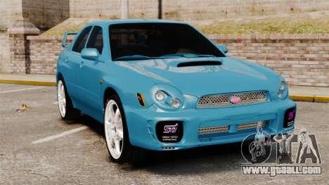 Subaru Impreza for GTA 4