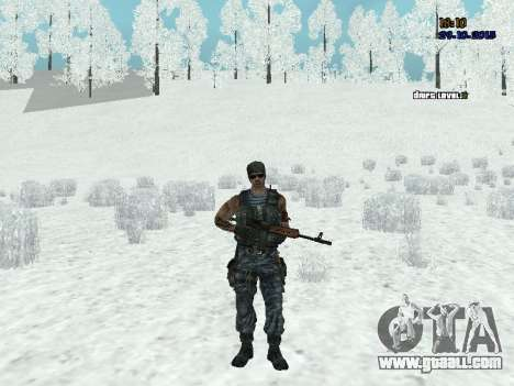 Commando for GTA San Andreas second screenshot