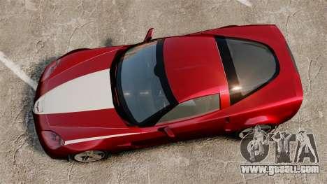 Chevrolet Corvette C6 Z06 V1.1 for GTA 4 right view
