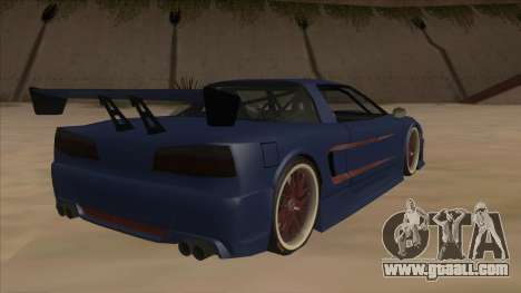 Infernus 2013 for GTA San Andreas right view