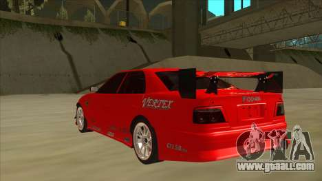 Toyota Chaser JZX100 DriftMuscle for GTA San Andreas back view