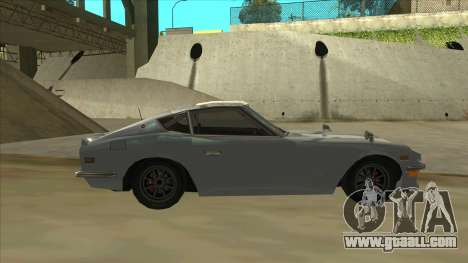 Nissan Fairlady S30Z for GTA San Andreas back left view