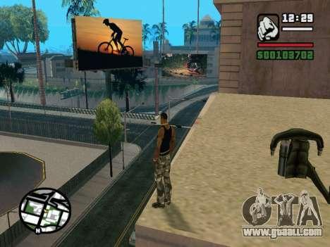 New BMX Park v1.0 for GTA San Andreas eighth screenshot