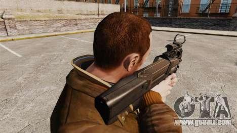FN P90 submachine gun for GTA 4 second screenshot