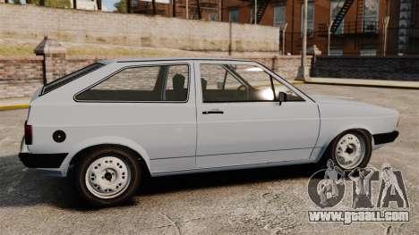 Volkswagen Gol LS 1986 for GTA 4 left view