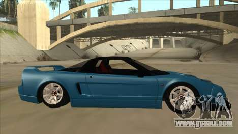 Honda NSX for GTA San Andreas