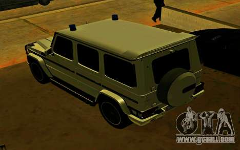 Mercedes-Benz G65 AMG 2013 for GTA San Andreas right view