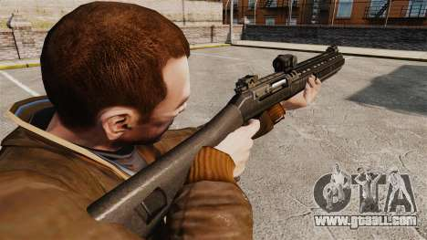Semi-automatic shotgun XM1014 Full Covered for GTA 4 second screenshot