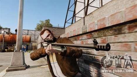 Sniper rifle Sako TRG-42 for GTA 4 third screenshot