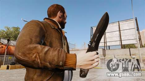 Tactical knife v2 for GTA 4