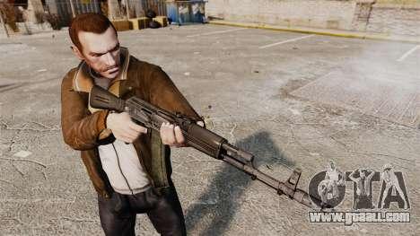 AK-74M for GTA 4 third screenshot