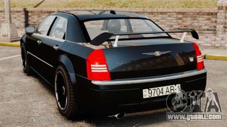 Chrysler 300C Pimped for GTA 4 back left view