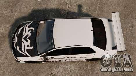 Mitsubishi Lancer Evolution VIII MR CobrazHD for GTA 4