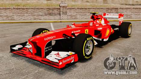 Ferrari F138 2013 v5 for GTA 4