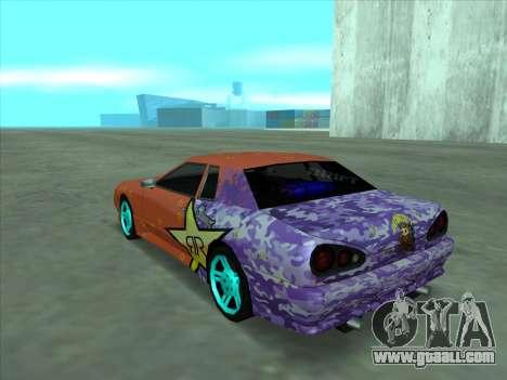 Drift elegy by KaMuKaD3e for GTA San Andreas bottom view