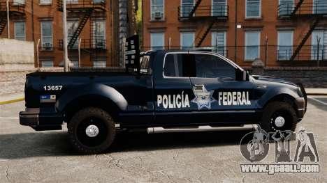 Ford F-150 De La Policia Federal [ELS & EPM] v1 for GTA 4 left view