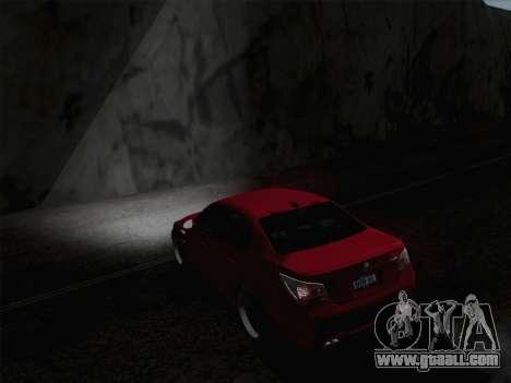 Middle and high beam headlights for GTA San Andreas third screenshot