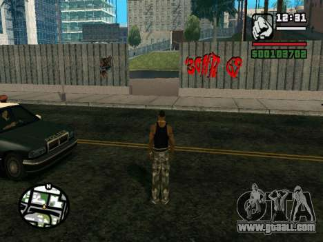 New BMX Park v1.0 for GTA San Andreas second screenshot
