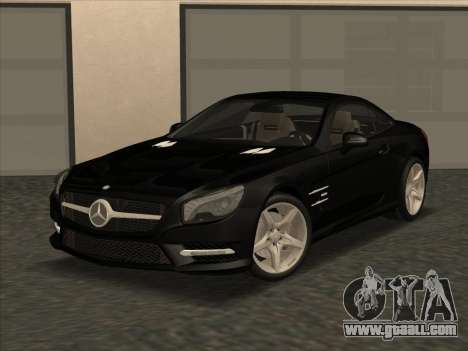 Mercedes-Benz SL500 2013 (ImVehFt v2.02) for GTA San Andreas