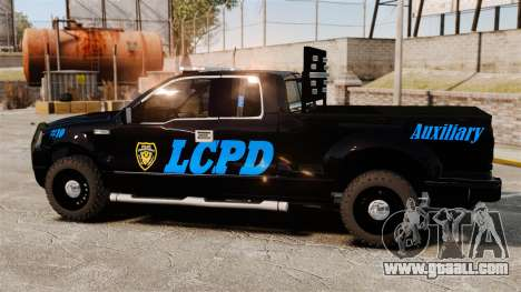 Ford F-150 v3.3 LCPD Auxiliary [ELS & EPM] v3 for GTA 4 left view