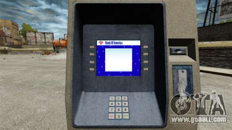 Bank Of America ATM v 2.0 for GTA 4