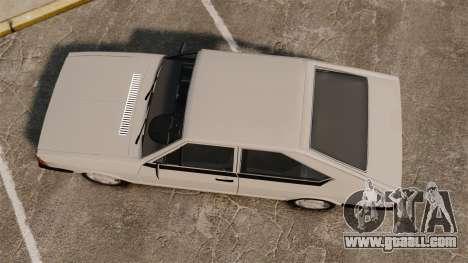 Volkswagen Passat TS 1981 for GTA 4 right view